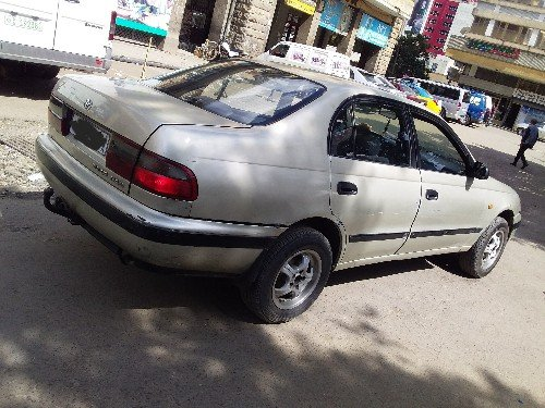 Toyota carina E manual 92