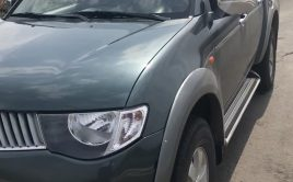 Mitsubishi double cabin pick up in a very good condition