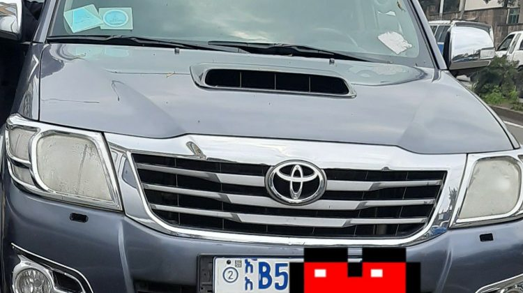 Toyota pickup double cabin 2013