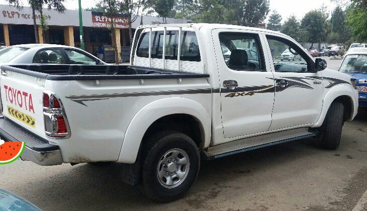 Toyota double cab 2012