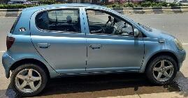 Toyota vitz 2001 Ride register