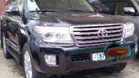Toyota V8 2012