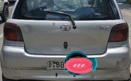 Toyota vitz Ride register