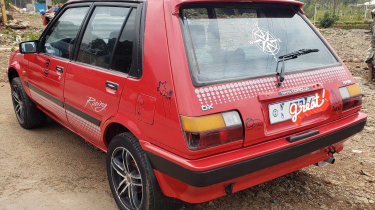 TOYOTA DX COMPACT 1986