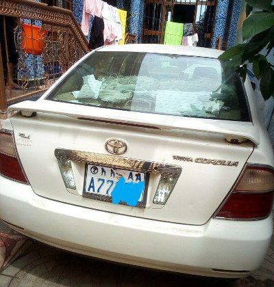 Toyota corolla automatic meri yalzore2005