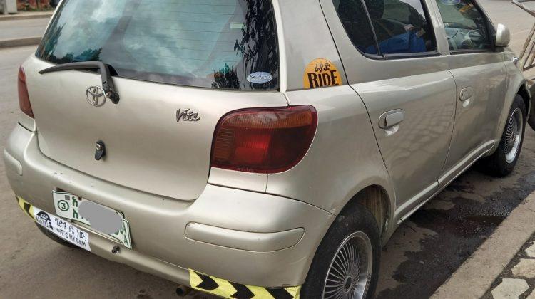 Toyota Vitz (RIDE) 2002