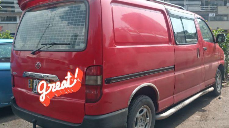 TOYOTA D4D haalfvan 2007