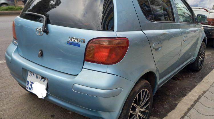 Toyota Vitz (2002)