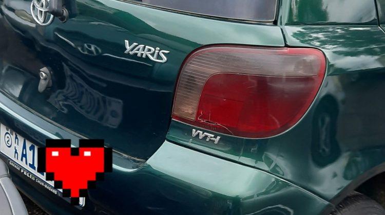 Toyota Vitz Yaris manual 2002