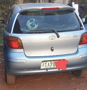 Toyota Vitz Ride Registered