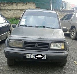 Suzuki Vitara Europe standard